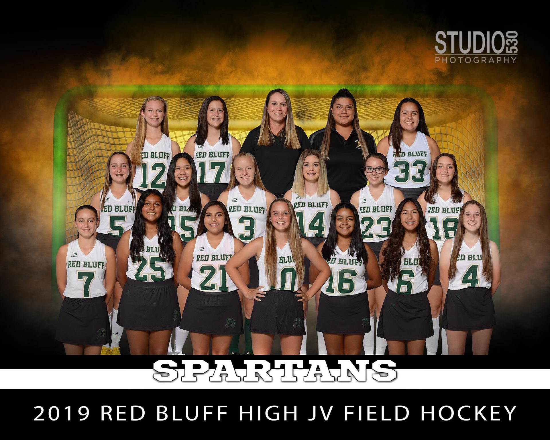 2019 JV Field Hockey Team